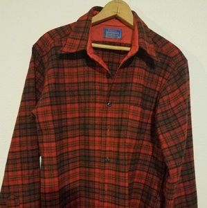 PENDLETON COUNTRY MATHESON RED TARTAN LARGE